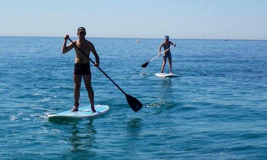 Enjoy Stand Up Paddleboard Rentals In Martigues, France