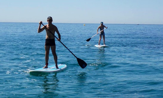 Enjoy Stand Up Paddleboard Rentals In Martigues, France