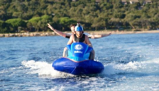 Enjoy Inflatable Jet Ski Rides In Porto-vecchio, Corse