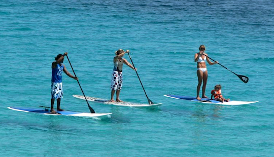 Enjoy Stand Up Paddleboarding In Porto-vecchio, Corse