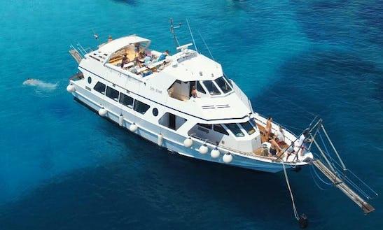 Charter 72' Sea Star Power Mega Yacht In La Maddalena, Italy