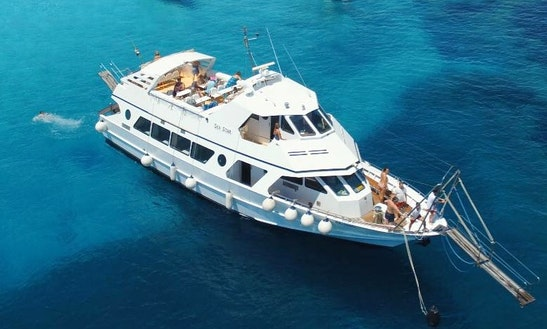 Charter 72' Sea Star Power Mega Yacht In La Maddalena, Italy