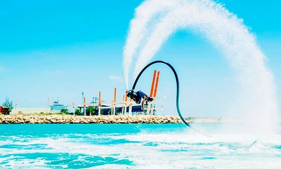 Enjoy Flyboarding In Exmouth, Western Australia