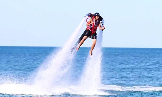 Enjoy Jet Pack Rides In Exmouth, Western Australia