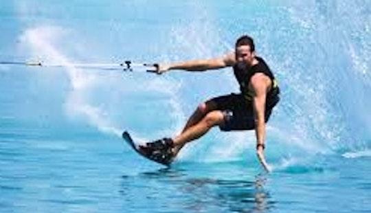 Enjoy Water Skiing In Exmouth, Western Australia
