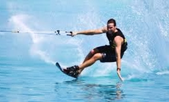 Enjoy Water Skiing In Exmouth, Western Australia