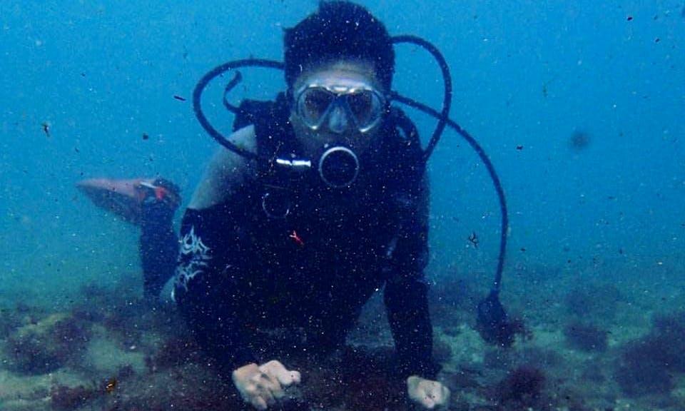 Enjoy Diving in Hengchun Township, Taiwan
