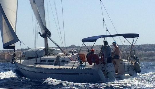 Charter 33' Elan Cruising Monohull In Saint Julian's, Malta