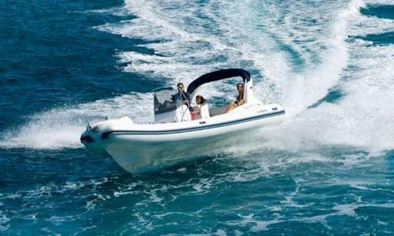 Rent 22' Nuova Jolly King 670 Rigid Inflatable Boat in Mali Lošinj, Croatia