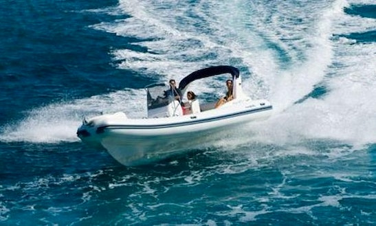 Rent 22' Nuova Jolly King 670 Rigid Inflatable Boat In Mali Lošinj, Croatia