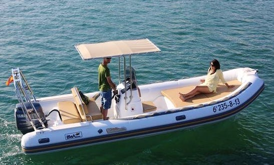Rent 20' Bwa Sixone Rigid Inflatable Boat In Mali Lošinj, Croatia