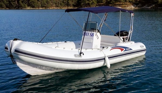 Rent Predator 540 Rigid Inflatable Boat In Brodarica, Croatia