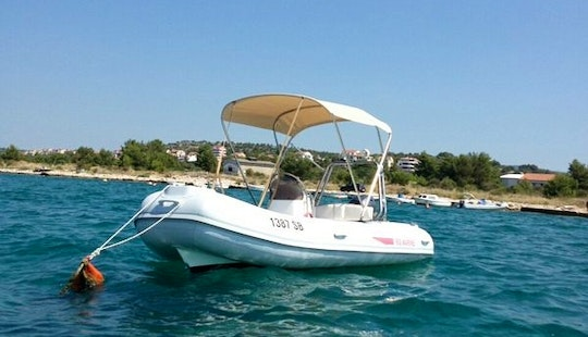 Rent Ris Marine 480 Rigid Inflatable Boat In Brodarica, Croatia