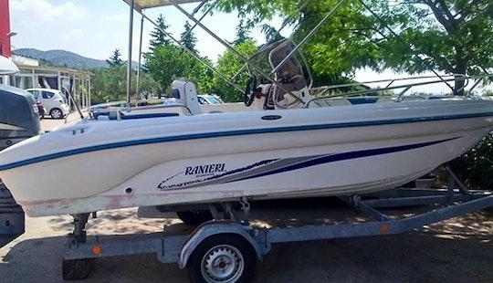 Rent Ranieri 59 Rigid Inflatable Boat In Brodarica, Croatia