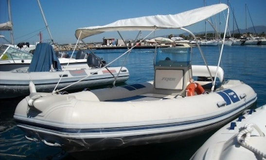 Rent Flyer 484 Rigid Inflatable Boat In Cagliari, Italy