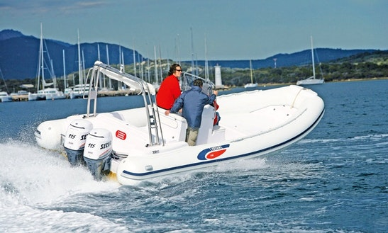 Rent A Semi Rigid 740 Rigid Inflatable Boat In Palavas-les-flots, France