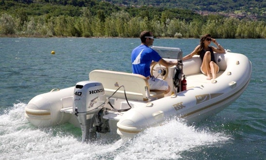 Rent Bsc 46 Rigid Inflatable Boat In Cagliari, Italy