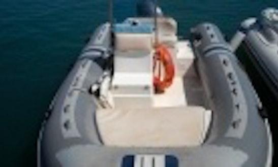 Rent Mango 47 Rigid Inflatable Boat In Cagliari, Italy