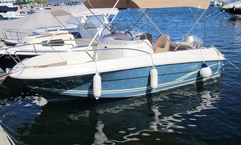 Have an amazing time in Biograd na Moru, Croatia on this Center Console