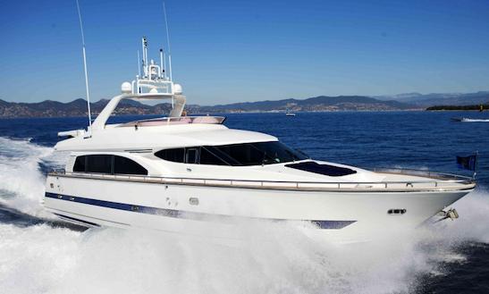 Charter 78' Mälarprinsessan Motor Yacht In Stockholm, Sweden