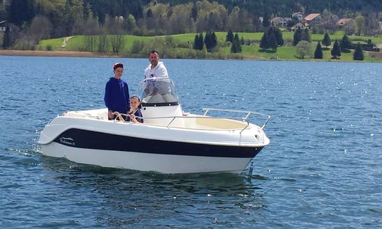 Rent Luxury Marinello Electric Boat In Malbuisson, France