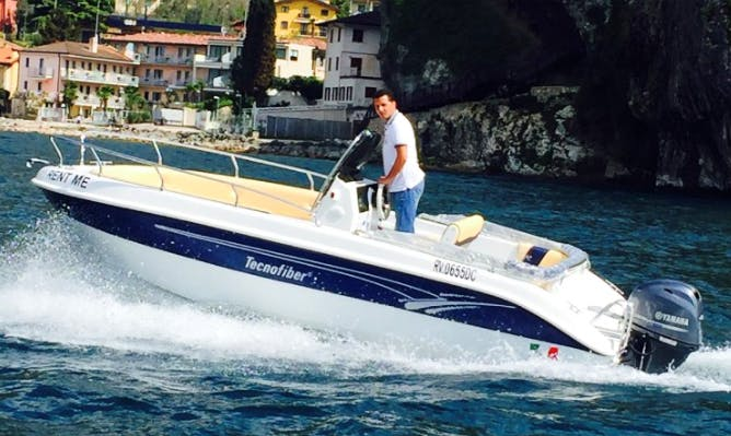 Rent an Almar 190 Center Console in Malcesine, Italy