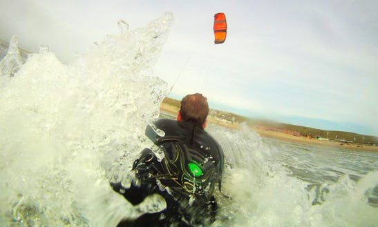 Enjoy Kiteboarding Lessons In Zandvoort, Netherlands