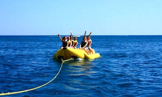 Double Banana Boat Rides Ready To Book In Marseillan, Occitanie