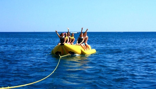 Double Banana Boat Rides Ready To Book In Marseillan, Occitanie
