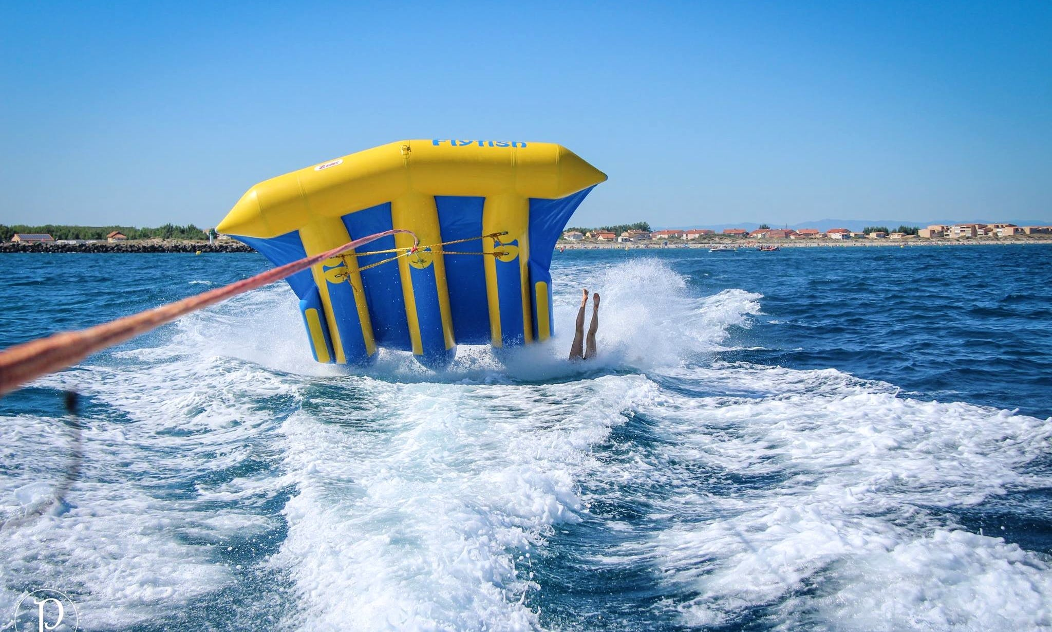 Fun Fly Fish Rides for 20 Minutes in Marseillan, Occitanie