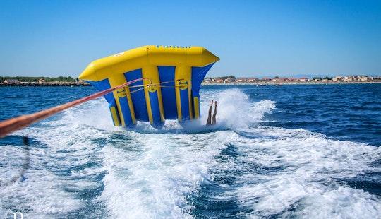 Fun Fly Fish Rides For 20 Minutes In Marseillan, Occitanie