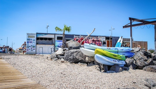 Quadruple Kayak Rentals In Marseillan, Occitanie