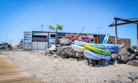 Quadruple Kayak Rentals In Marseillan, Occitanie