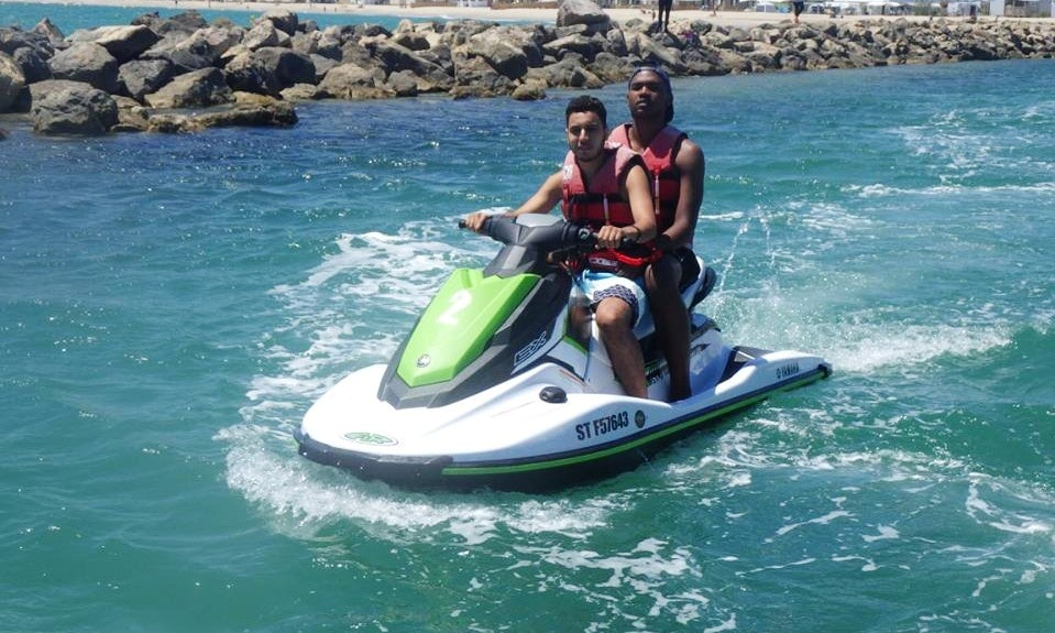 rent yamaha 180 cv jet ski in marseillan  occitanie