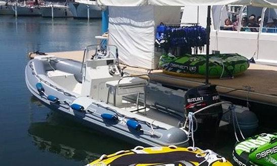 Charter Gliss Rigid Inflatable Boat In La Grande-motte, France