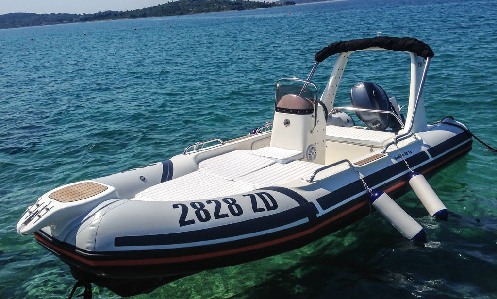 Rent 19' Nautica Rigid Inflatable Boat in Ražanac, Croatia