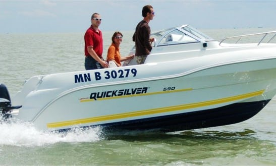 Rent Quicksilver 590 Cuddy Cabin In Royan, France