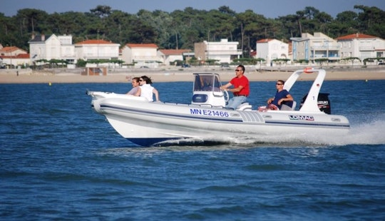 Rent Lomac 675 Rigid Inflatable Boat In Royan, France