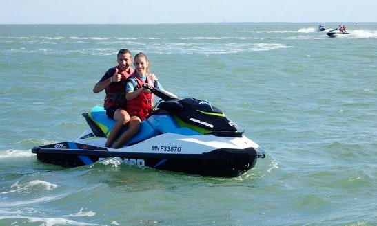 Rent Seadoo Gti 100 4t Jet Ski In Royan, France