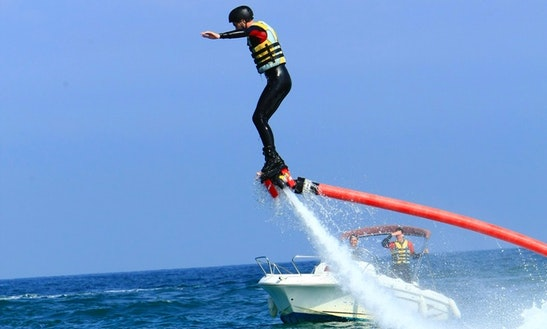 Enjoy Flyboarding In Capbreton, New Aquitaine, France