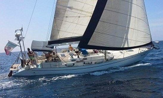 Captained Charter On 45ft Morgante Sailing Yacht From Leuca, Italy