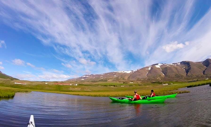 Kayak Tours in Grenivík, Iceland