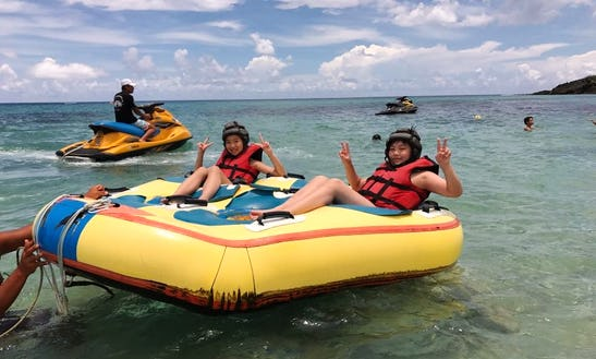 Enjoy Tubing Adventure In Hengchun Township, Taiwan