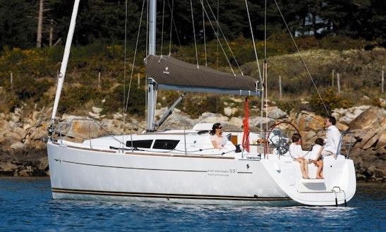 Charter 33' Jeanneau Sun Odyssey 33i Performens Crusing Monohull In Nordborg, Denmark