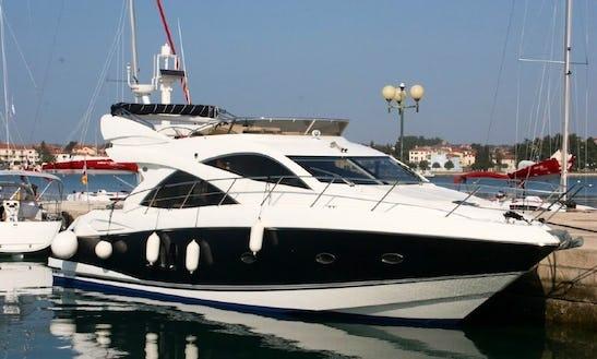 Charter 52' Sunseeker Manhattan Power Mega Yacht In Bibinje, Croatia