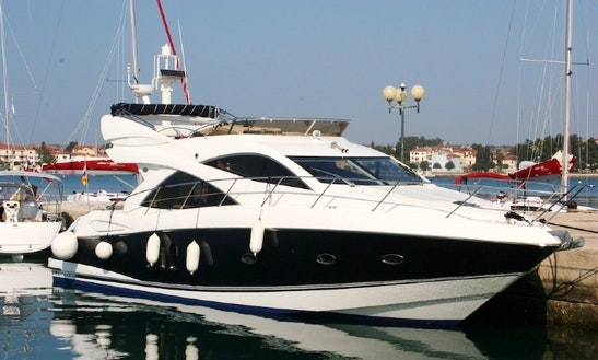 Charter 52' Sunseeker Manhattan Power Mega Yacht In Bibinje, Croatia