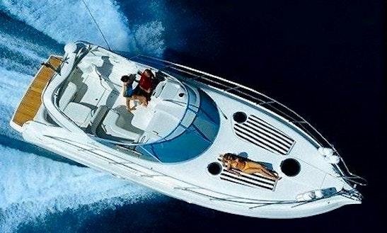 Charter 34' Cranchi Zafiro Motor Yacht In Portiglioni, Italy