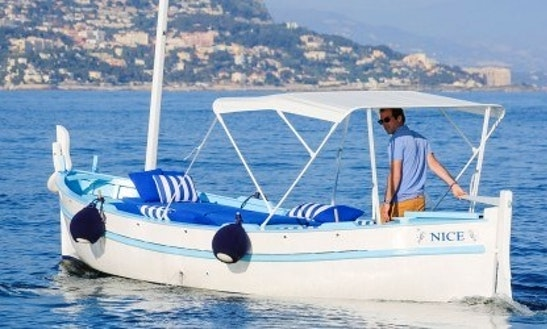 Charter 18' Pointu Dinghy In Saint-jean-cap-ferrat, France