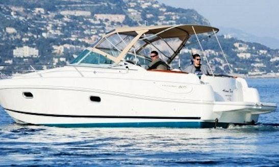 Charter 26' Jeanneau Leader Motor Yacht In Saint-jean-cap-ferrat, France