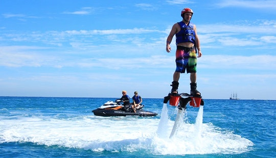 Flyboarding For 16 Years Old And Above In Ouistreham, Normandie, France